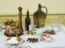 Traditional Cypriot Meze