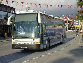 Paphos Bus along the seafront